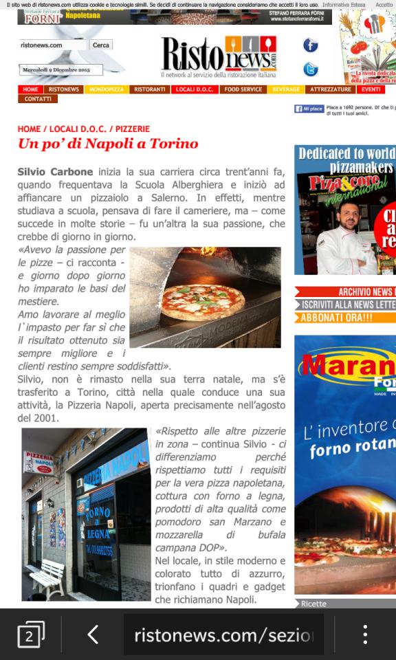 Articolo Pizz Napoli